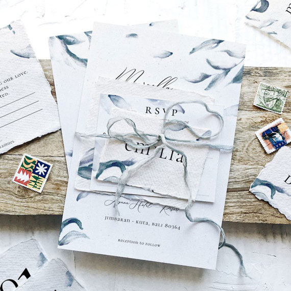 Bespoke Wedding Invitations, Wedding Stationery, Ceremony Booklets, Online Rsvp, Evites, Wedding Websites, Dublin, Ireland.